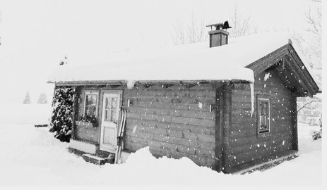 Snowy Chalet Lausi