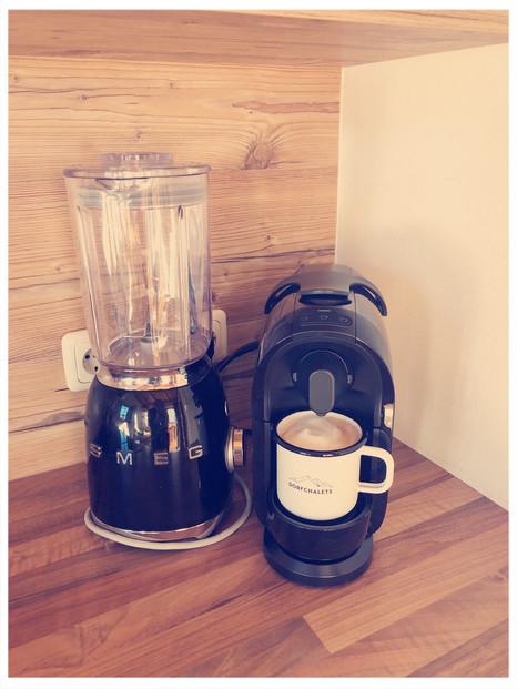 Smeg & Kaffeemaschine