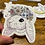 Thumbnail: Bunny with Flower Crown Sticker