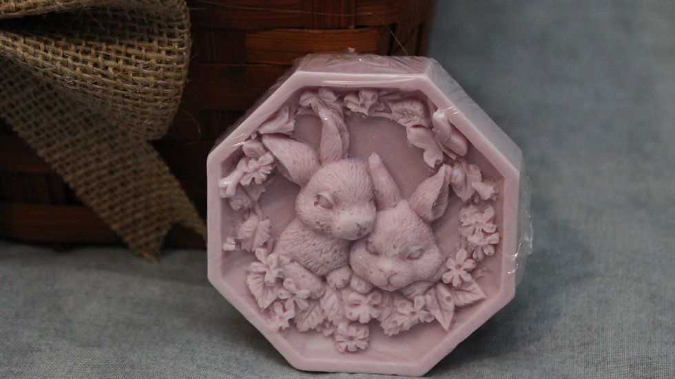 Octagon Rabbit Soap