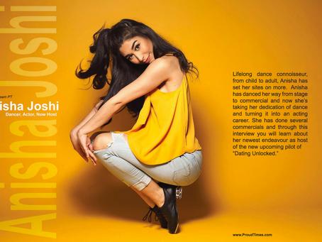 Anisha Joshi host of Dating Unlocked