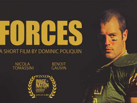 Bromance in 'Forces', a short film