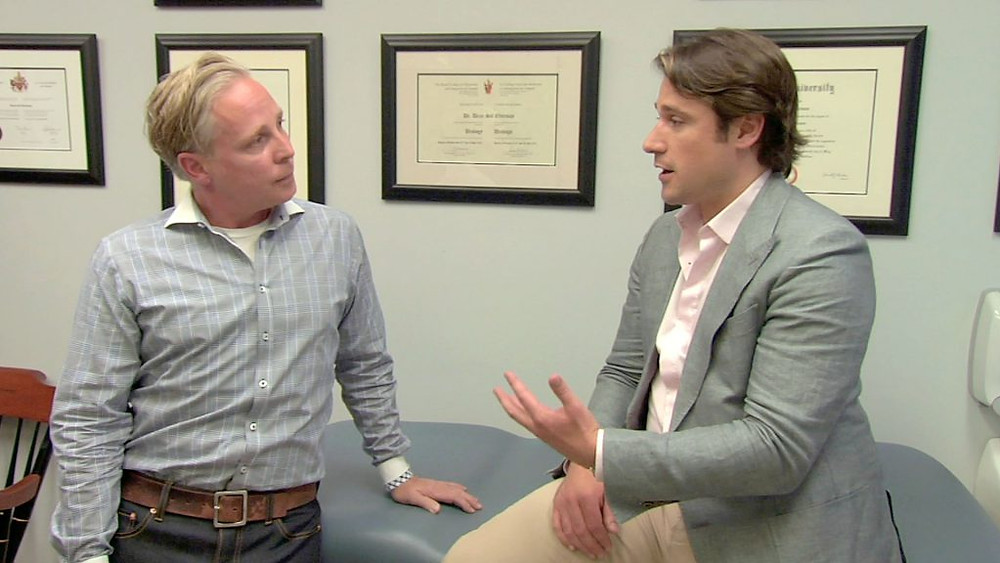 Shawn discusses testosterone therapy with Dr. Dean Elterman.