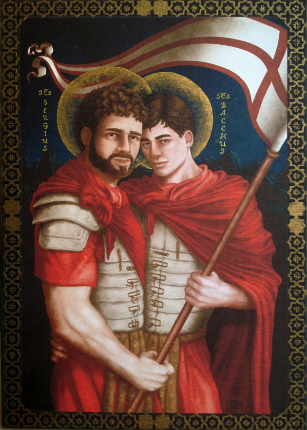 Saints Sergius and Bacchus Alessio Ciani (1946 - living) Italy 2013