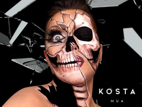 KostaMUA will scare you pretty