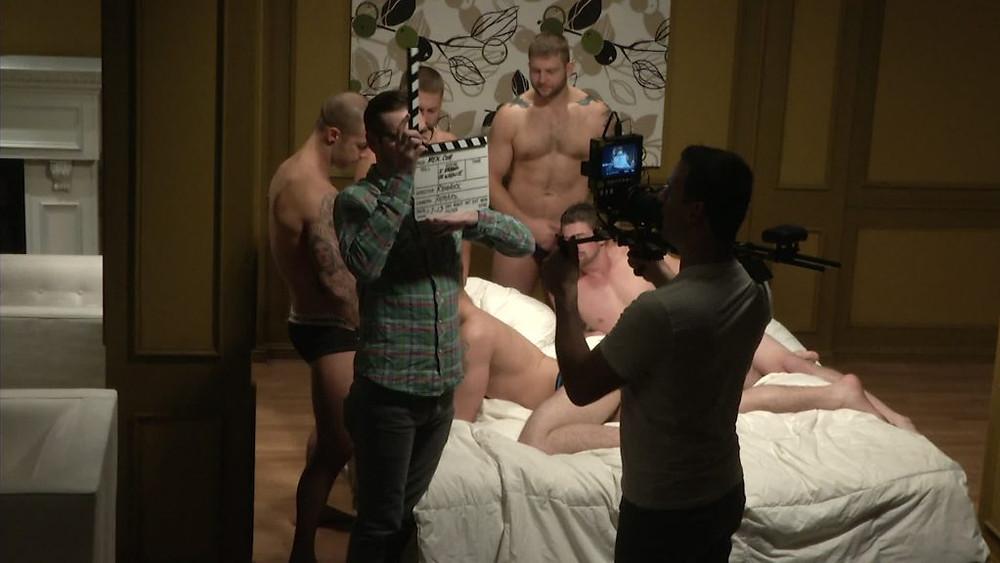 I'm a Porn Star documentary on set