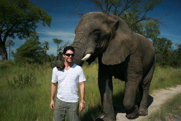 millionaire mindset - Charlie David & elephant