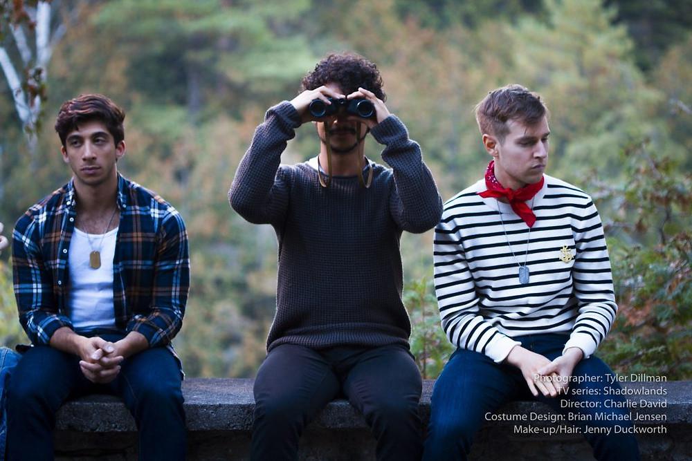 Shadowlands gay series Vasilios Filippakis, Oscar Moreno and Nicolas James Wilson