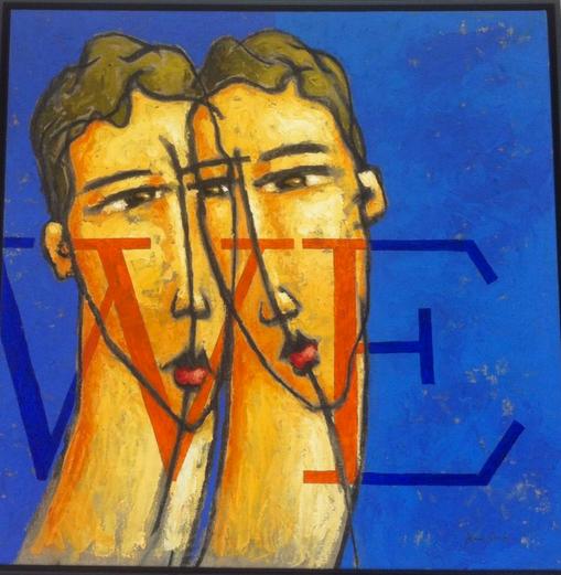 Aecio Sarti painting