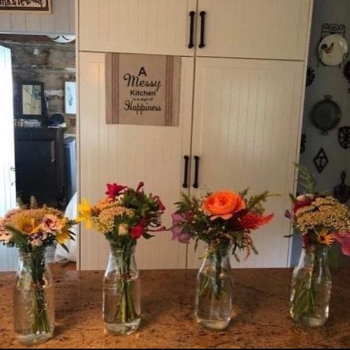 Mason Jar Farm Fresh Bouquet