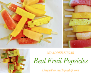 Real Fruit Popsicles