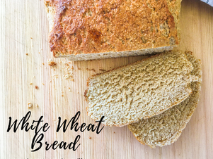 High Altitude White Wheat Bread