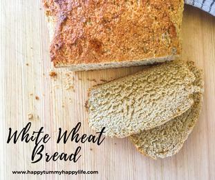 High Altitude White Wheat Bread