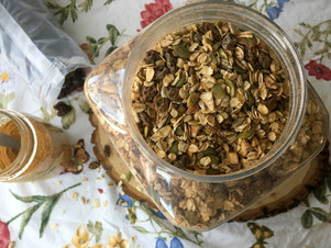 Cinnamon Raisin Muesli