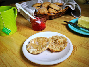 Simple Whole-Wheat Biscuits