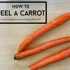 How to Peel a Carrot