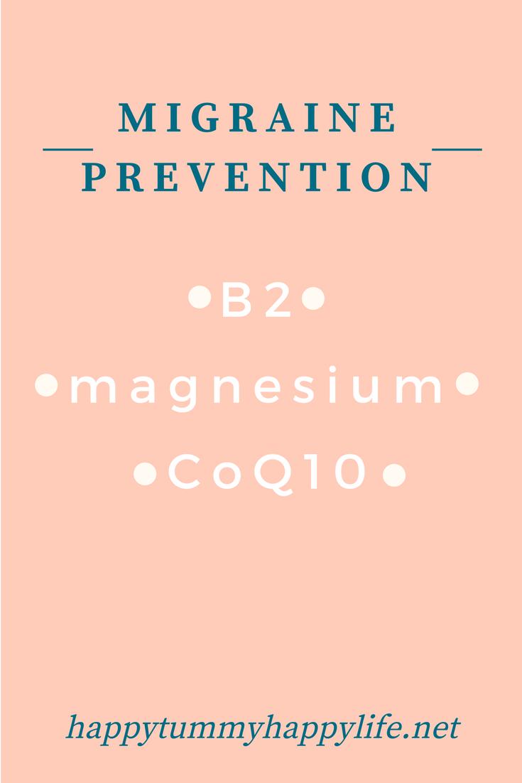 Migraine Prevention Recipe
