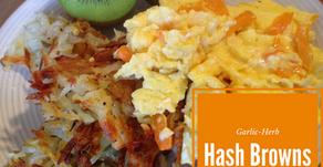Garlic-Herb Hash Browns