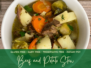 Instant Pot Beef and Potato Stew