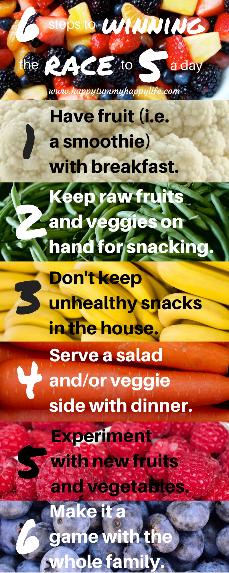 5 a day tips