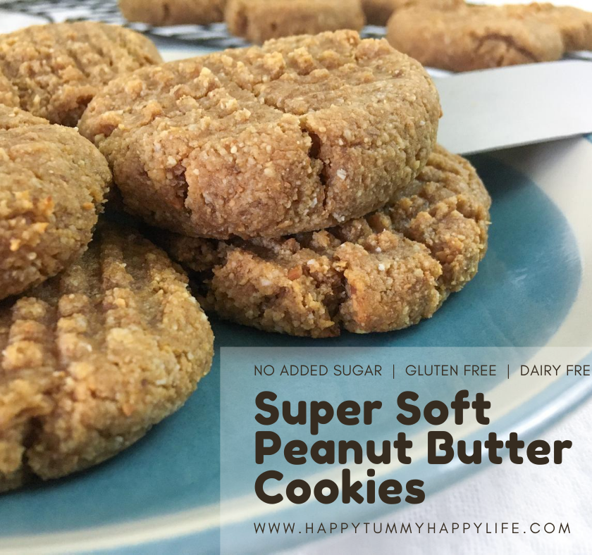 Peanut Butter Cookies, Peanut Butter, Homemade, Gluten Free, Dairy Free, No Added Sugar, Refined Sugar Free