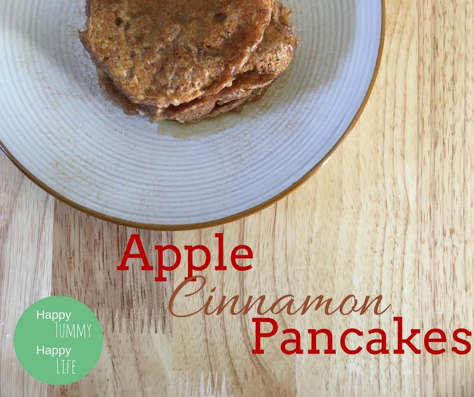 Apple Cinnamon Pancakes | Healthy Breakfast | Vegan Recipes