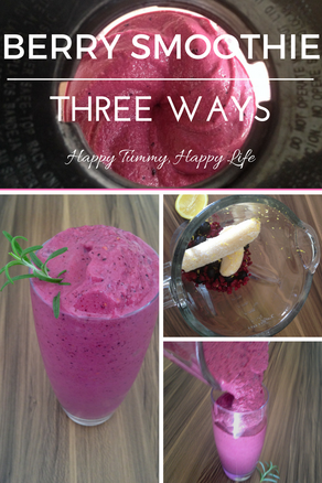 Berry Smoothie—Three Ways