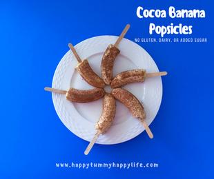 Cocoa Banana Pops