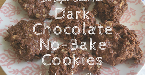 Dark Chocolate No Bake Cookies