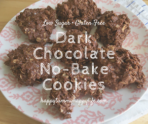 Dark Chocolate No Bake Cookies
