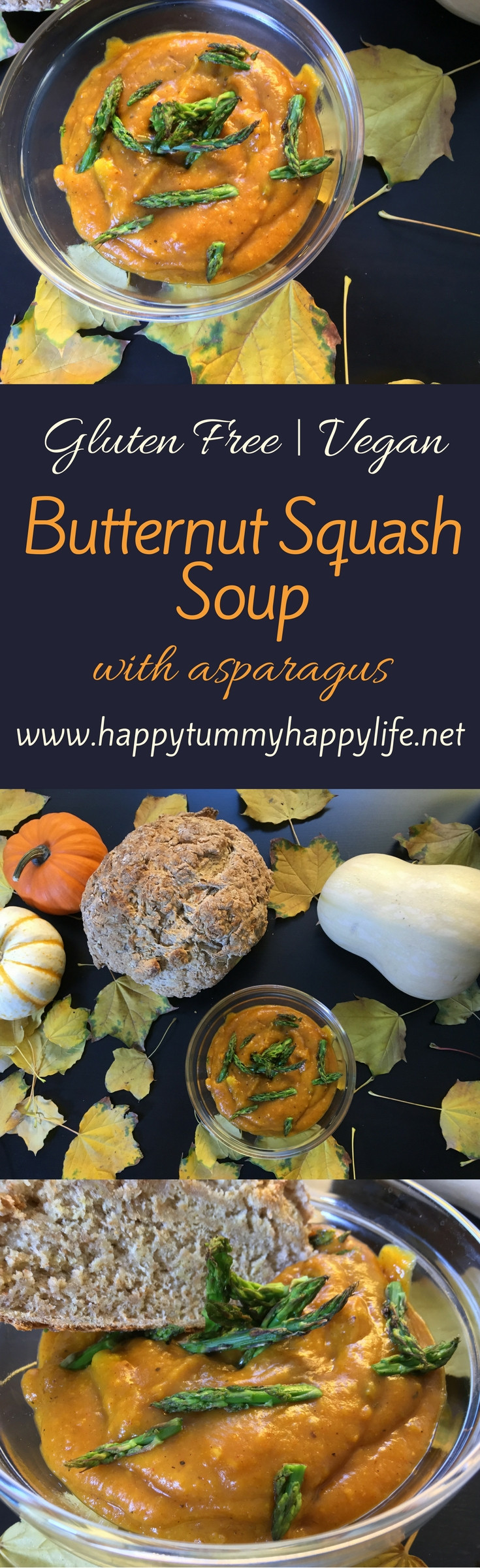 Butternut Squash Soup | Recipes with Turmeric | Gluten Free | Vegan | Vegetarian Recipes | Dairy Free | Dinner Recipes | Lunch Recipes | Fall Food | Healthy Recipes | Thanksgiving Recipes