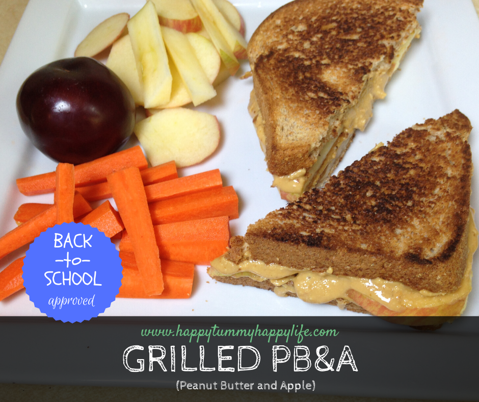 peanut butter, sandwich, lunch, quick and easy lunch