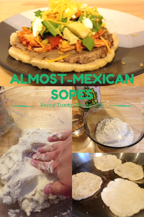 Almost-Mexican Sopes