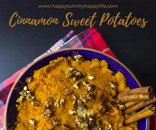 Cinnamon Sweet Potatoes