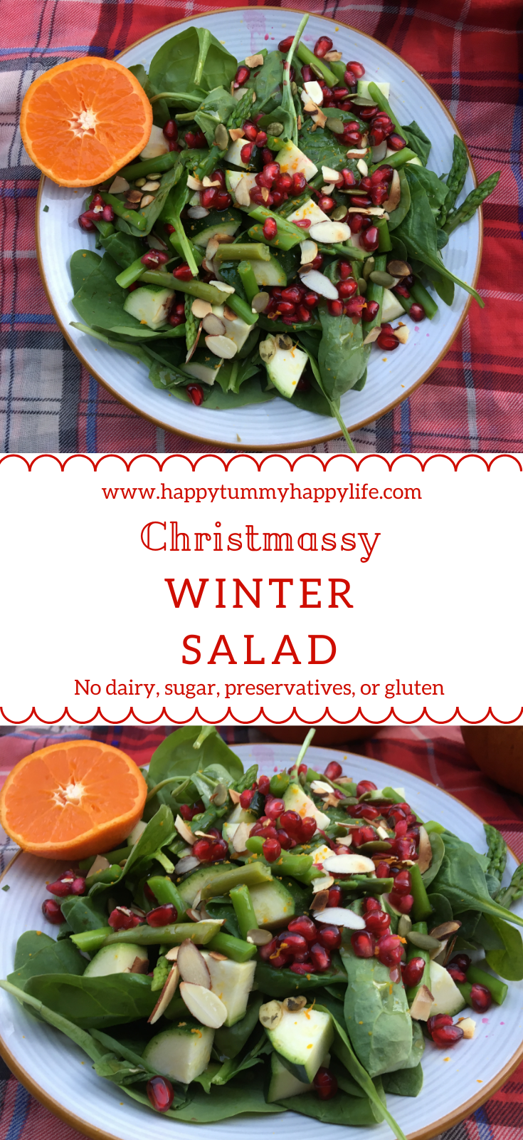 Winter Salad, Christmas Recipes, Thanksgiving Recipes, Quick and Easy Recipes, Fall Salad, Gluten Free, Dairy Free, Vegan, Healthy Sides, Preservative Free, No Added Sugar
