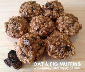 Oat & Fig Muffins