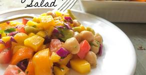 Mango-Chickpea Salad