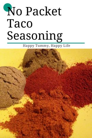No Packet Taco Seasoning