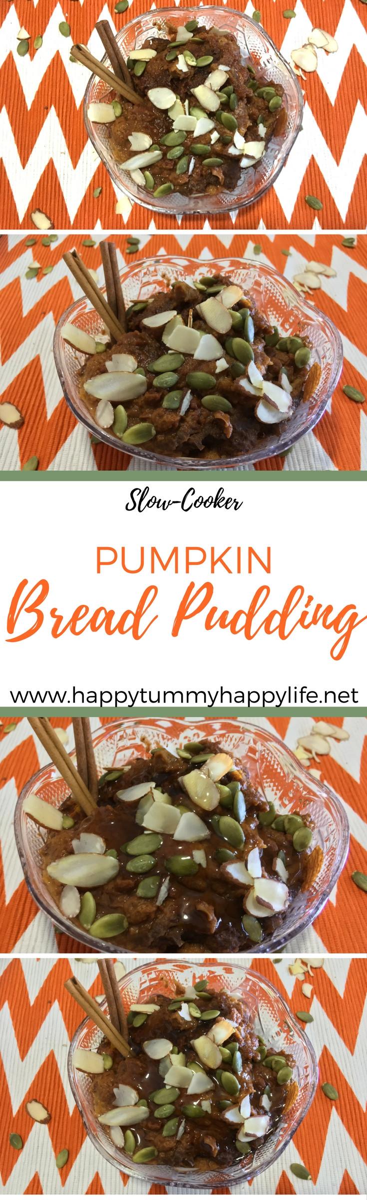 Pumpkin Bread Pudding, Pumpkin Recipes, Dessert Recipes, Easy Recipes, Crockpot Recipes, Slowcooker Recipes, Breakfast Recipes, Fall Recipes, Thanksgiving