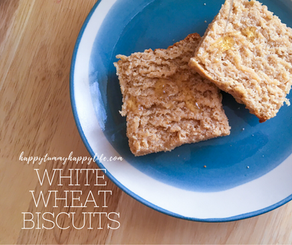 White Wheat Biscuits