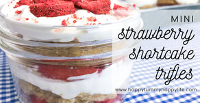 Mini Strawberry Shortcake Trifles