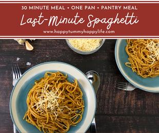 Last-Minute Spaghetti