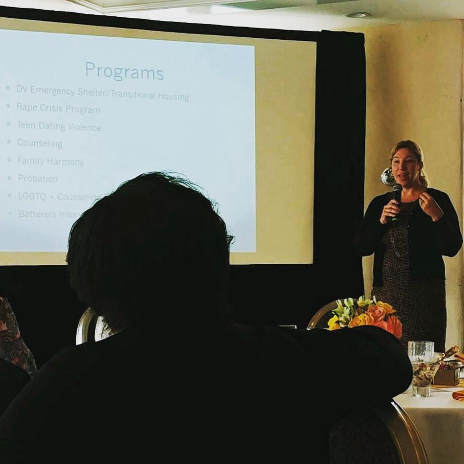 Executive Director Caroline Prijatel-Sutton