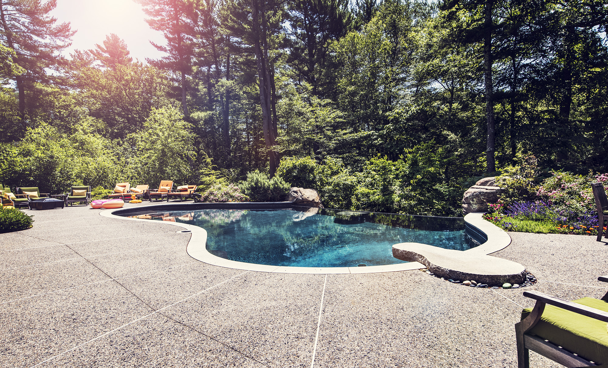 Woodland Edge Pool