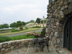 Stone Pub Terrace