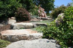 Natural Garden Steps