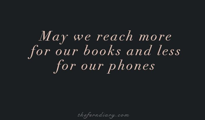 Fighting My Phone Addiction with Books (and Push-ups)