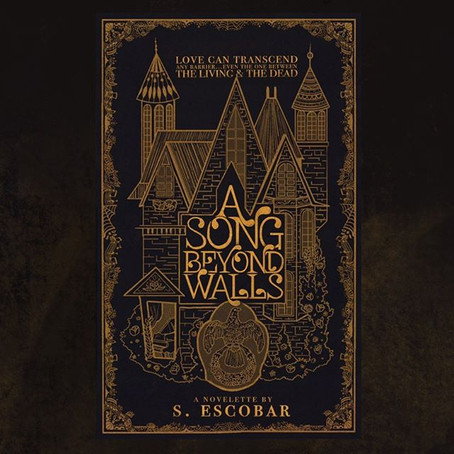 """The Cover Design for """"A Song Beyond Walls"""""""