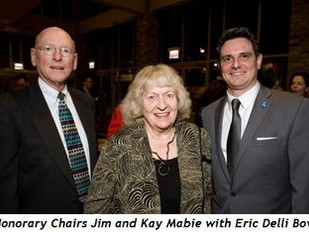 JIM AND KAY MABIE SERVE AS HONORARY CHAIR TO URBAN GATEWAYS GALA