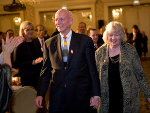 JIM AND KAY MABIE HONORED BY MERIT SCHOOL OF MUSIC